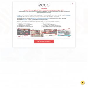 """ECCO (""""Оплаченный заказ новым клиентом"""")"""