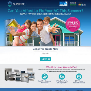 Supreme Home Warranties [EMAIL] [INSURANCE] - CPL - US [PRIVATE MUST SEND SUBID FOR APPROVAL]