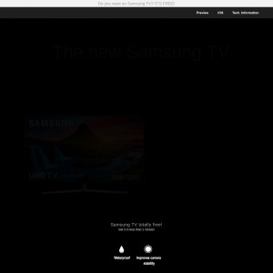 Samsung TV - CC SUBMIT - IN - Sweepstake - Responsive