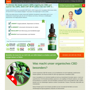 Formula Swiss CBD - French LP [CH] - (Display Only)CPA {All Days | All Domains} - CPA