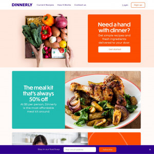 Dinnerly US - Paid order