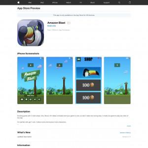 Amazon Blast - iOS - PK