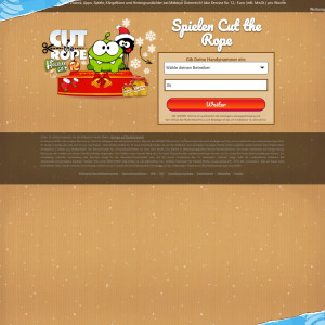 [WAP+WEB] Cut the Rope Winter / AT