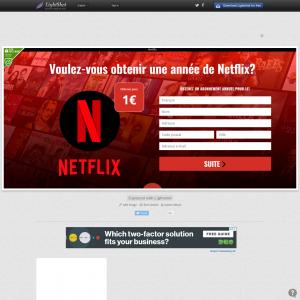 Netflix (FR, BE, CH)