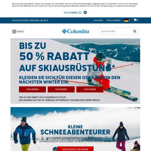Columbia Sportswear DE - Paid order