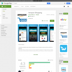 Amazon Shopping [GAID] (Android 4.0+) KR - Non Incent