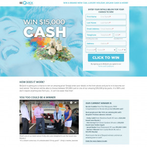 Win $15.000 Cash (AU) (incentive) (Personal Approval)