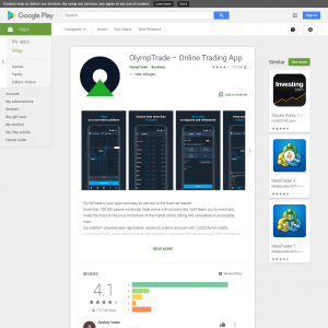 OlympTrade (Android 4.0.3+) IN - Non incent