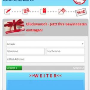 Rewe voucher 750€ - SOI