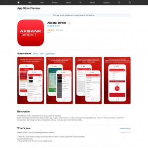 TR - Akbank Direkt - iOS - Incent