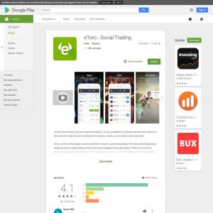 eToro  (Android 4.1+) DE - Non incent