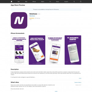 Netshoes (iPhone 9.0+) BR - Non incent