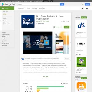Guia Repsol - viajes, rincones, inspiraciones (GAID required) (Android 5.0+) ES - Non incent