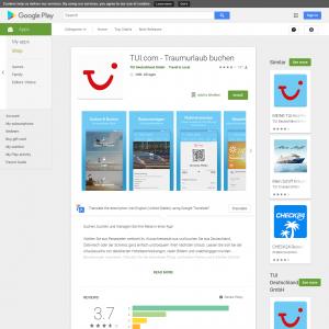 TUI.com - Traumurlaub buchen (Android 5.0+) DE - Non incent