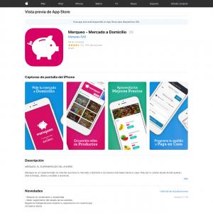 Merqueo - Mercado a Domicilio (iPhone 9.3+, iPad 9.3+) CO - Non incent