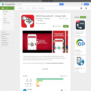 BOSS Revolution (GAID required) (Android 4.1+) US - Non incent
