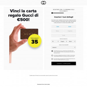 (6997) [WEB+WAP] Gucci giftcard - IT - CPL