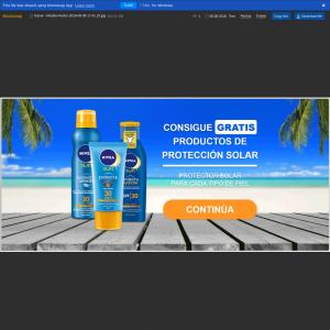 Spain (ES) - Giveaways ES - Nivea Proteccion Solar (Responsive)