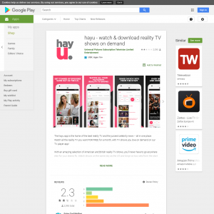 Hayu (Android 4.4+) AU - Non incent