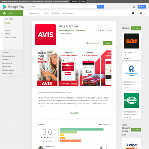 Avis Car Hire (Android 4.4+) FR - Non incent