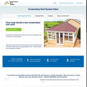 Conservatory Roof Quoter - UK - CPL