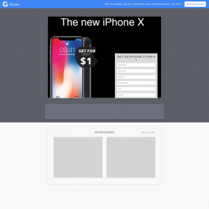 Win New iPhone X!