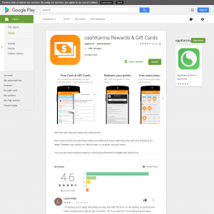 cashKarma Rewards & Gift Cards Android App CA
