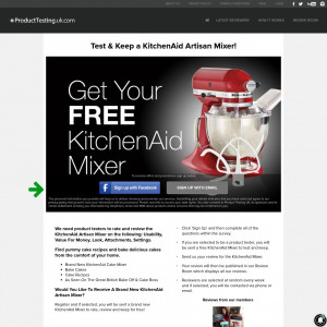 Product Testing KitchenAid Artisan Mixer [UK]