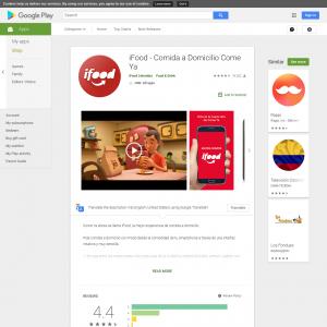 iFood - Comida a Domicilio Come Ya (API) (Android 4.0.3+) CO - Non incent