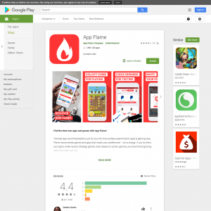 App Flame (Android) AU - Non incent