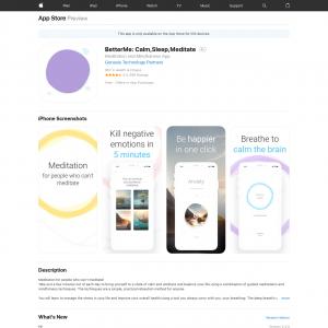 BetterMe* (iPhone, iPad) US CA GB - Non incent
