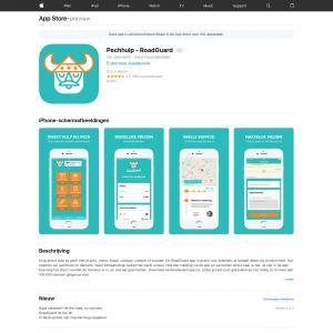 Pechhulp - RoadGuard (iPhone, iPad) NL - Incent