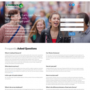 Cashback Research US