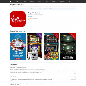 Virgin Casino (iPhone, iPad) US - Non incent