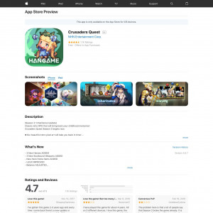 Crusaders Quest [iPad,iPhone] [CN]